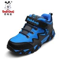 户外登山鞋 巴布豆童鞋儿童棉鞋保暖冬鞋 男童大棉鞋2013冬季新款