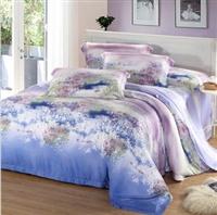 KEMOON 可慕家纺 高档双面天丝四件套 四件套 床上用品 床上四件套 全天丝 四件套