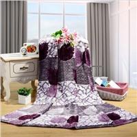 KEMOON 可慕家纺 多用法莱绒盖毯子毛毯 毛毯 单人双人 毛毯春秋 毯子 200*230cm