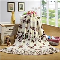 KEMOON 可慕家纺 多用法莱绒盖毯子毛毯 毛毯 单人双人 毛毯春秋 毯子 180*200cm