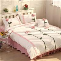 唯美浪漫全棉多件套床品
