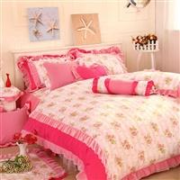 莎莎公主 多件套100%全棉床上用品4件套