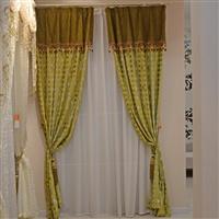 橙果布艺独家进口土耳其割绒 高档别墅定制客厅卧室窗纱布料