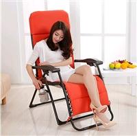 折叠躺椅午睡椅 加固躺椅沙滩椅 办公室躺床躺椅午休椅