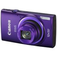 佳能(Canon) IXUS 265 HS 数码相机 紫色(1600万像素 3英寸液晶屏 12倍光学变焦 25mm广角 遥控拍摄)