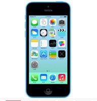 苹果(APPLE)iPhone 5c 8G版 3G手机(蓝色  8G ROM)WCDMA/GSM